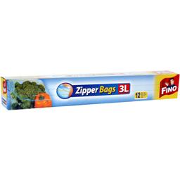 Pungi alimentare resigilabile 3L, 12 bucati