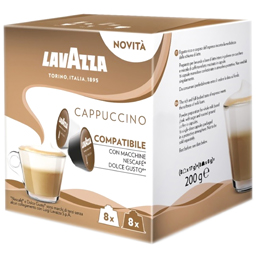 Cafea Cappuccino 16 capsule, 8 bauturi