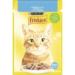 Hrana umeda pentru pisici cu somon la plic 85g