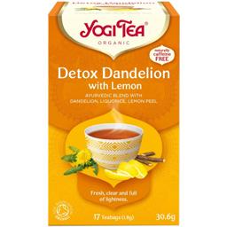 Ceai detoxifiant cu lamaie bio 30.6g