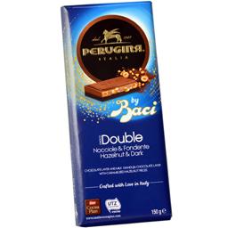 Ciocolata neagra cu alune, lapte si bucati de alune caramelizate 150g