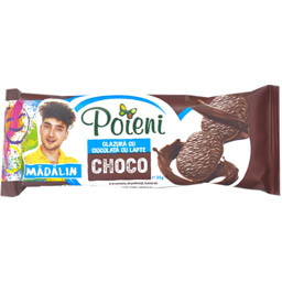 Biscuiti glazurati cu ciocolata 36g