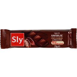 Tableta ciocolata cu crema amaruie fara zahar 25g