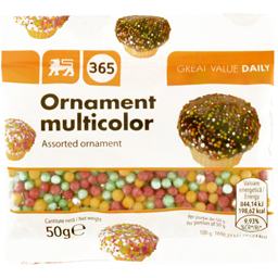 Ornament multicolor  50g