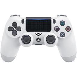 Controller Sony Dualshock 4 V2 pentru PlayStation 4, alb