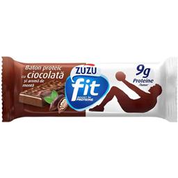 Baton proteic cu ciocolata si aroma de menta 35g