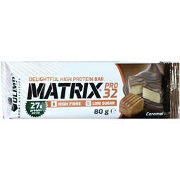 Baton proteic cu caramel invelit in ciocolata 80g