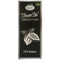 Ciocolata bio neagra 72% 100g