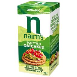 Painici organice din ovaz integral 250g