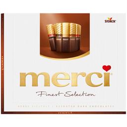 Specialitati de ciocolata amaruie asortata  250g