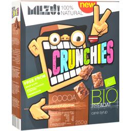 Cereale Crunchies Bio cu cacao 250g