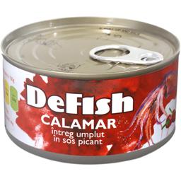 Calamar intreg in sos picant 170g