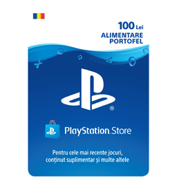 Card Sony PlayStation Store 100 lei