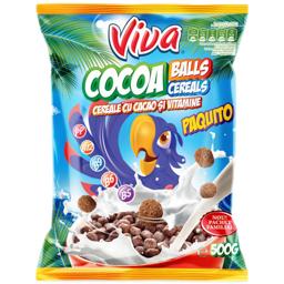 Cereale cu bilute de cacao 500g