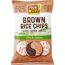 Chips orez cu chia si quinoa 60g