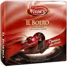 Praline cu ciocolata, cirese si lichior  200g