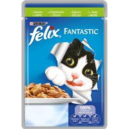 Hrana pentru pisici cu iepure in aspic 100g