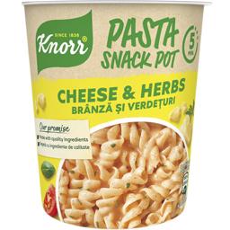 Paste Snack Pot branza & verdeturi 59g
