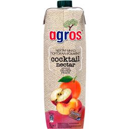 Suc Cocktail nectar cu portocale, mar si piersica 1L