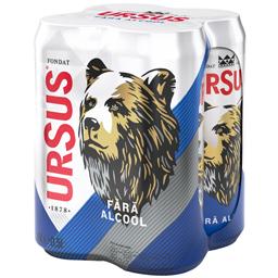 Bere blonda fara alcool 4x0.5L