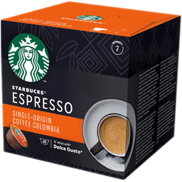 Cafea Espresso Single Origin Colombia, 12 capsule