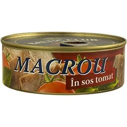 Macrou in sos tomat 240g