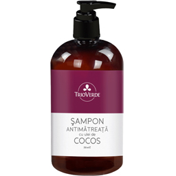 Sampon Antimatreata cu ulei de cocos bio 250ml