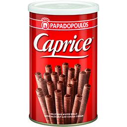 Rulouri de napolitane cu crema de alune de padure si cacao 250g
