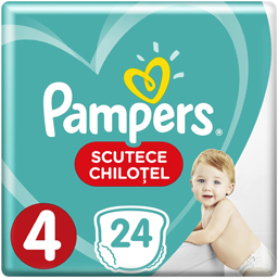 Scutece chilotel bebelusi Marimea 4, 9-15 kg, 24 buc