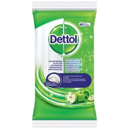 Servetele umede dezinfectante mar verde 40 bucati