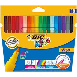 Markere pentru colorat, 18 culori