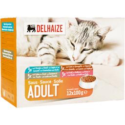 Hrana umeda pentru pisici adulte  12x100g