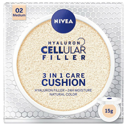 Cushion 3in1 crema coloranta hidratanta FPS15 mediu 15ml
