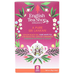 Ceai bio A Pure Sri Lankan, 20 plicuri 39g