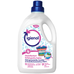 Dezinfectant lichid pentru haine, Fresh Linen 1.5L