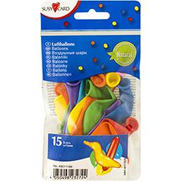 Baloane diverse figuri biodegradabile 15 bucati