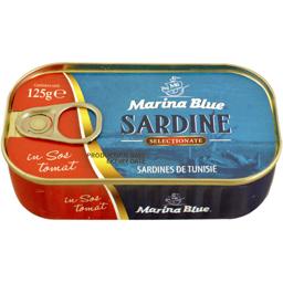 Sardine in sos tomat 125g