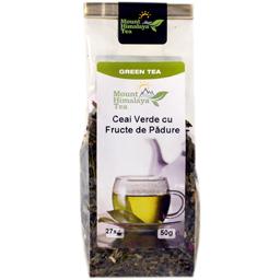 Ceai Verde cu fructe de padure 50g
