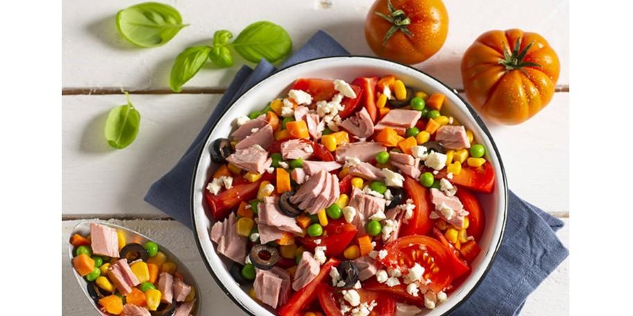 Salata rapida cu ton Rio Mare